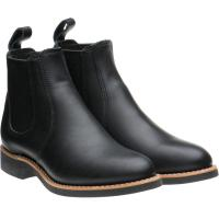 red wing ladies 6-inch chelsea in black boundary leather