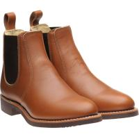 red wing ladies 6-inch chelsea in pecan boundary leather