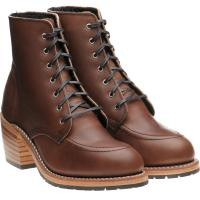 red wing ladies clara in amber harness leather