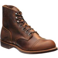 red wing iron ranger in copper rough and tough
