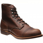 Red Wing Iron Ranger rubber-soled boots