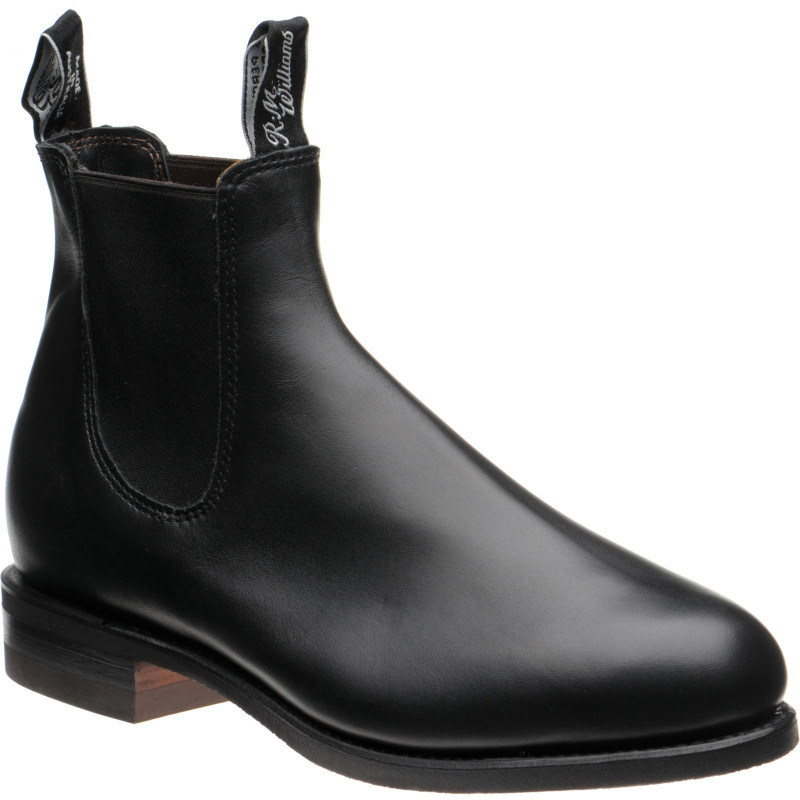 Comfort Turnout rubber-soled Chelsea boots
