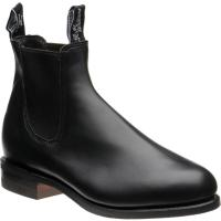 rm williams comfort turnout in black calf