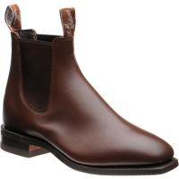 rm williams comfort craftsman in dark tan calf
