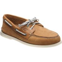 sperry ao tumbled in tan