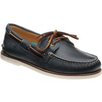 sperry ao gold in navy