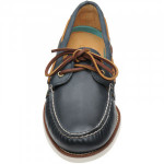 A/O Gold rubber-soled Derby shoes