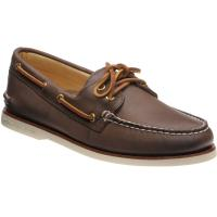 sperry ao gold in brown