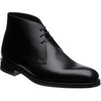 loake pimlico in black calf