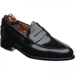 loake 256 in black polished