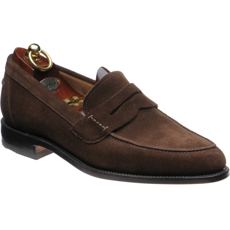 0e299c47 Loake shoes | Loake 1 | 256 in Brown Suede at Herring Shoes