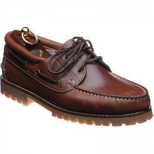 Loake 522 rubber-soled deck shoes