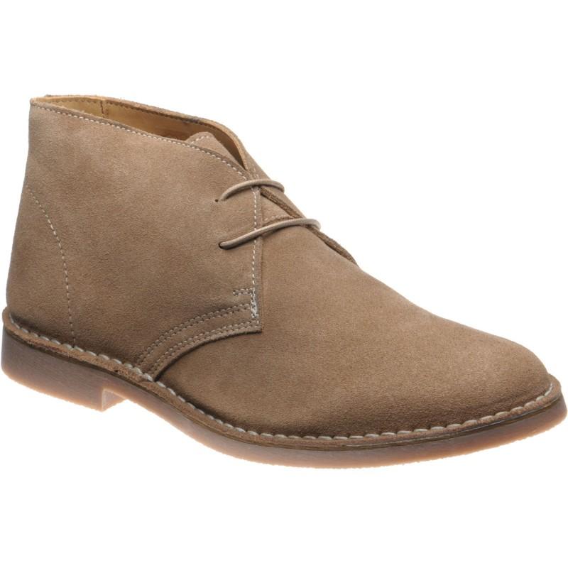 Sahara rubber-soled Chukka boots
