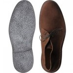 Loake Sahara rubber-soled Chukka boots