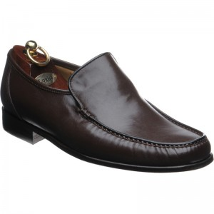 Loake Siena in Brown Nappa