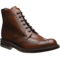 loake bedale in brown calf