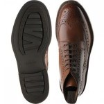 Bedale rubber-soled brogue boots