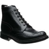loake bedale in black calf