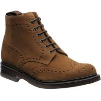 Loake Bedale rubber-soled brogue boots