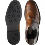 Loake Thirsk  rubber-soled brogue Chelsea boots