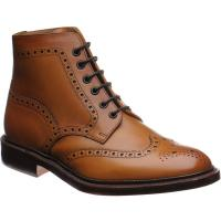 Loake Burford brogue boots