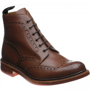 Wharfdale rubber-soled brogue boots