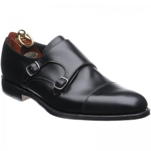 loake cannon in black calf
