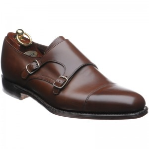 loake cannon in dark brown calf