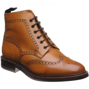loake wolf warm lined in tan calf