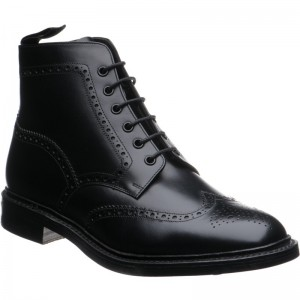 loake wolf warm lined in black calf