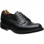 Loake Worton rubber-soled brogues