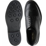 Worton rubber-soled brogues