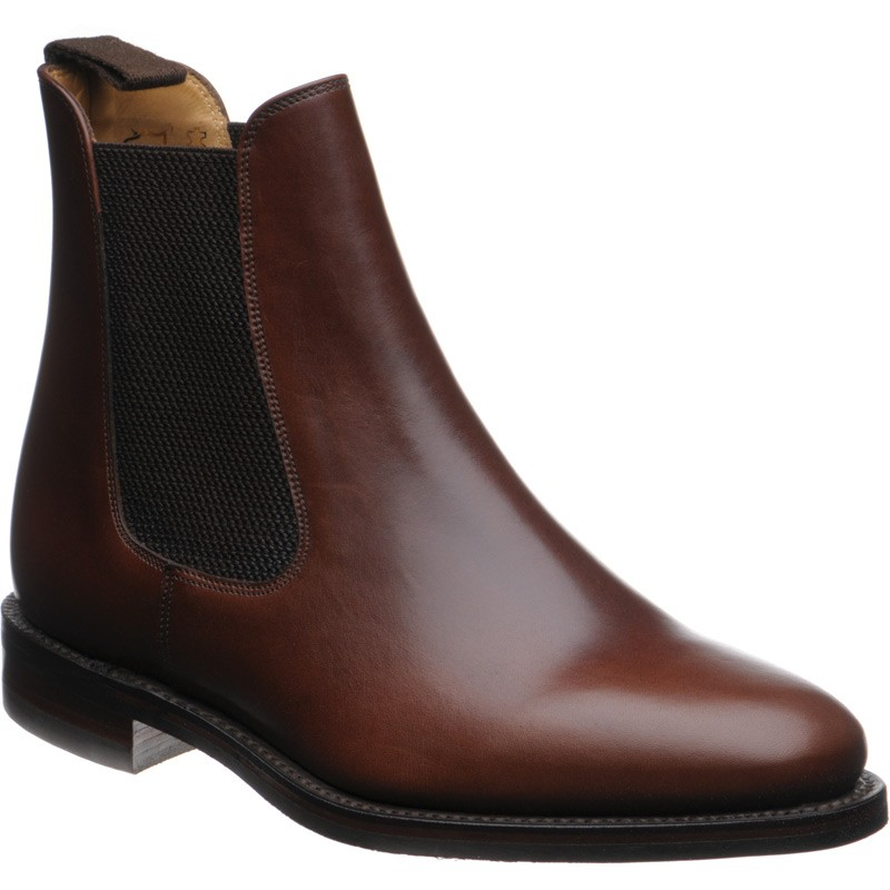 Loake Blenheim rubber-soled Chelsea boots UK