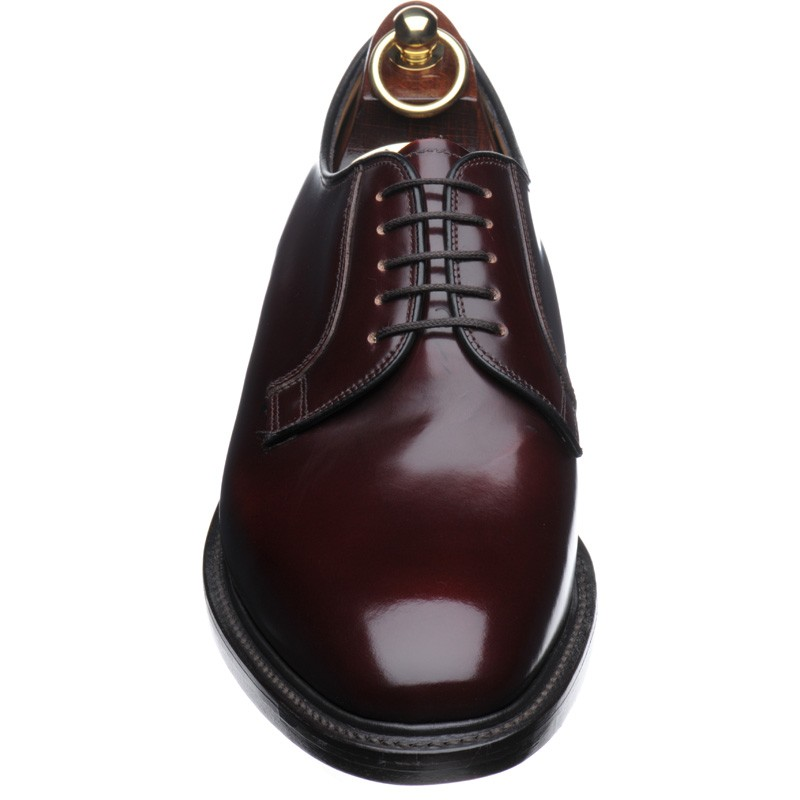 771 Derby shoes in Burgundy Polished