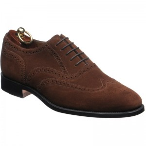 loake 202 in brown suede