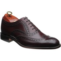 loake fearnley in burgundy calf