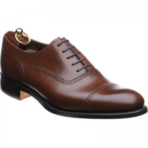 Ledbury rubber-soled semi-brogues