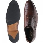 Loake Heston rubber-soled brogues