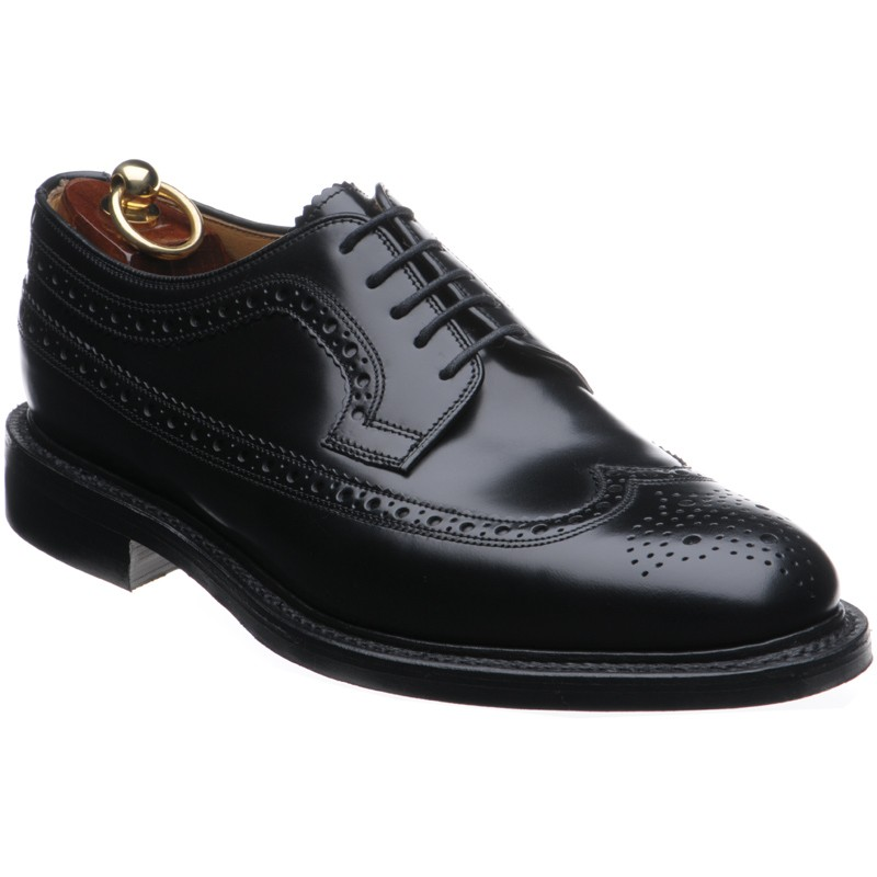 Loake Sovereign rubber-soled brogues