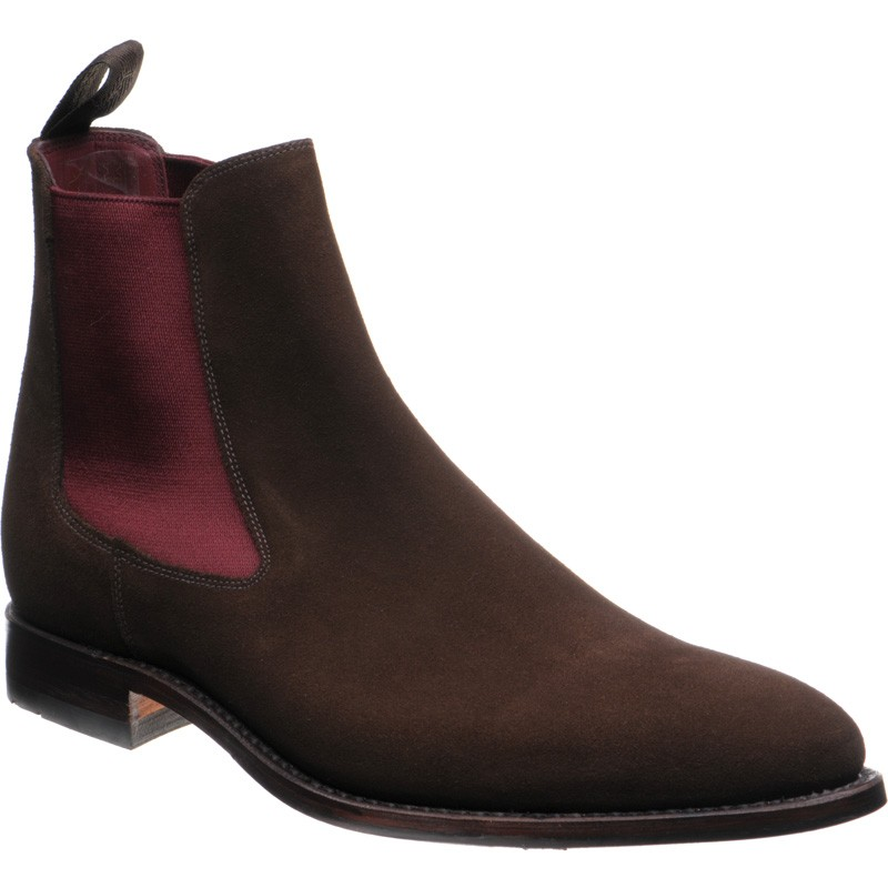 Loake Hutchinson rubber-soled Chelsea boots