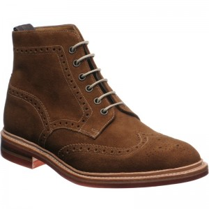 Loake Winchester in Tan suede