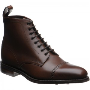 Hyde rubber-soled boots