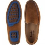 Loake Donington rubber-soled driving moccasins