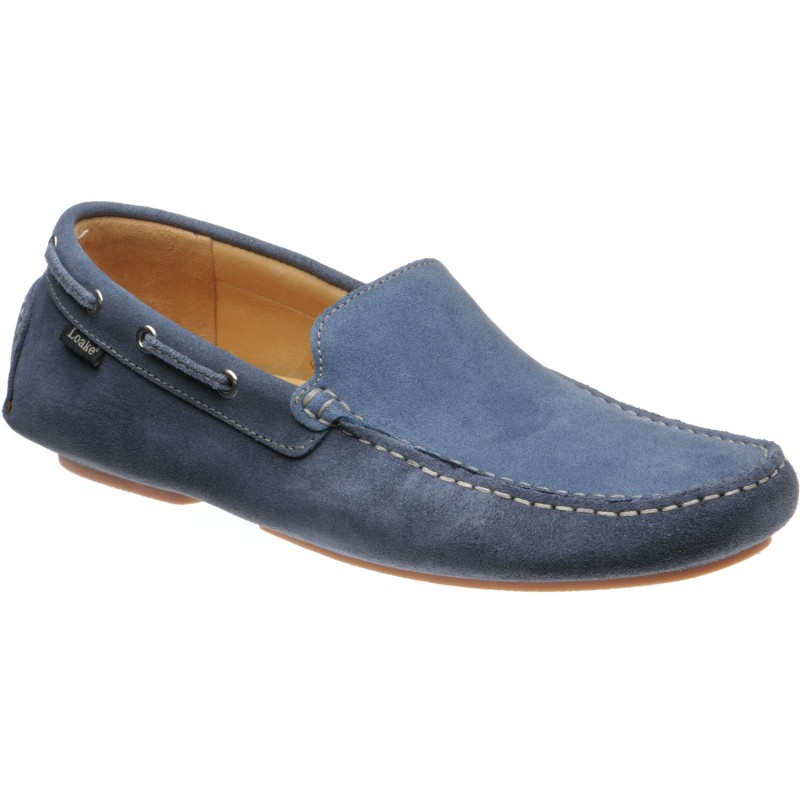 Donington rubber-soled driving moccasins