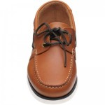 Loake 528 rubber-soled deck shoes