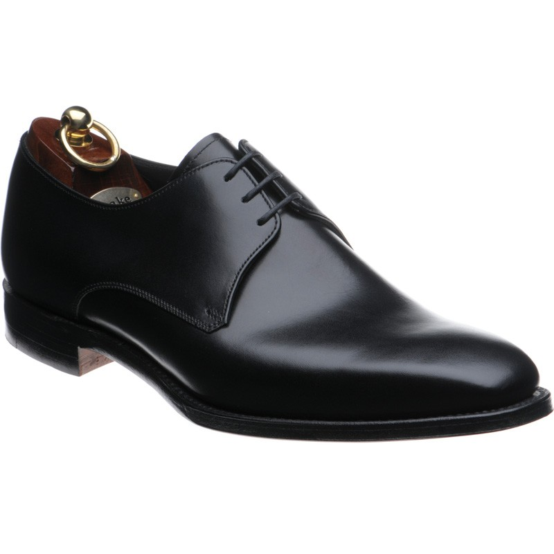24b4e05a1794 Loake shoes   Loake 1880   Cornwall Derby shoes in Black Calf at ...