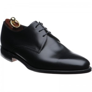 Loake Downing in Black Calf
