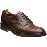 loake chester rubber in brown chromexcel leather
