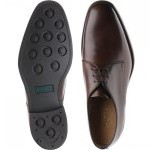 Loake Gable rubber-soled Derby shoes