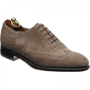 Loake RL564T in Sand Suede